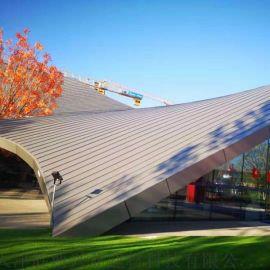 铝镁锰金属屋面板 铝镁锰屋面装饰板 铝镁锰外装板