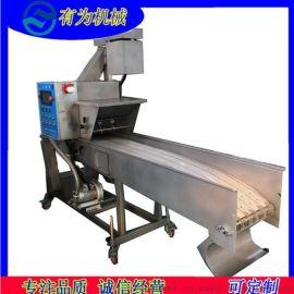 黄金玉米奶酪卷上糠机 芝士玉米条上浆裹糠机技术指导