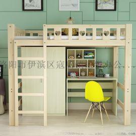 郑州双层床铁艺床双层床员工宿舍床上下铺铁床厂家直销
