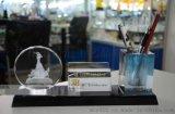 广州特色水晶纪念品,水晶办公摆件礼品定做,广州五羊水晶纪念品制作