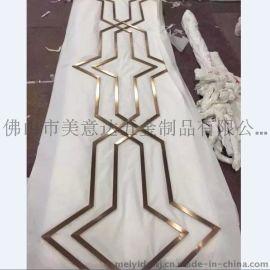 镜面不锈钢线条 不锈钢装饰线条 黑钛精品不锈钢线条
