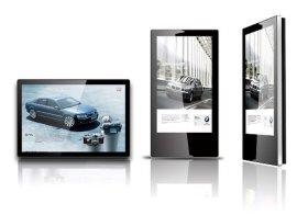 32寸落地广告机, 经典苹果款广告机,单机版广告显示屏