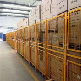 安平聚光丝网生产厂区分割网车间隔离网仓库围栏网