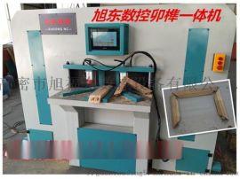 45度木工数控卯榫一体机、数控木工榫卯机