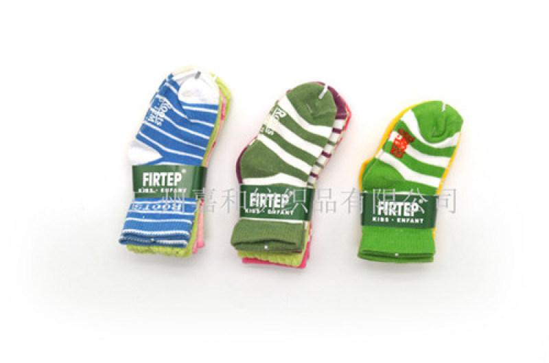 婴儿袜子 舒适条纹童袜  广州童装袜子厂