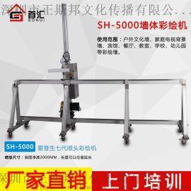 湖北武汉首汇墙体立式打印机家装打印机SH-H1