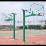户外篮球架成人标准室外地埋方管加强固定篮球架