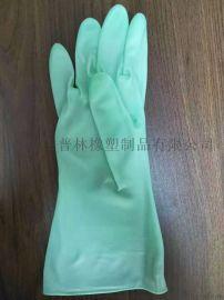 家用手套PVC手套廚房手套加厚加長手套