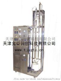 不锈钢玻璃填料精馏塔、回流比控制器