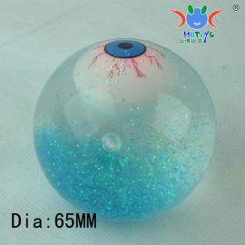 水晶弹力球