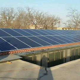 多晶硅太阳能光伏板250W300W家用风光互补发电系统
