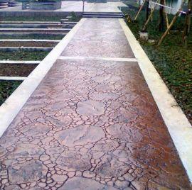 上海桓石150余种.压印地坪 压模地坪 压纹地坪彩色混凝土压印地坪