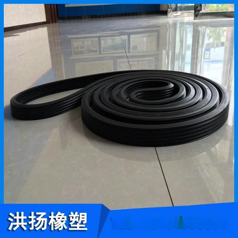 生產供應 抗老化橡膠密封條 耐酸鹼氟膠條 三元乙丙橡膠條