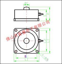 輪輻式稱重感測器 平臺秤感測器 汽車感測器 軌道衡感測器WPL201