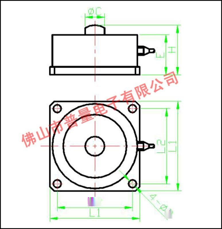 轮辐式称重传感器 平台秤传感器 汽车传感器 轨道衡传感器WPL201