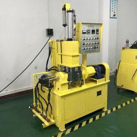 加压翻转式橡胶密炼机 高硬度材料小型炼胶机