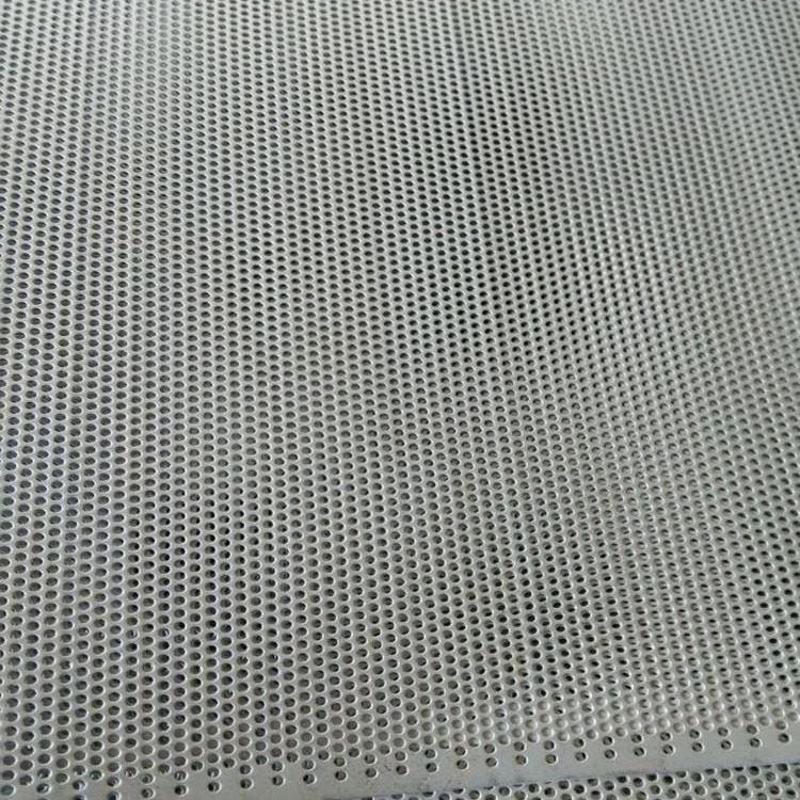 不锈钢冲孔网 镀锌冲孔板 圆孔冲孔网