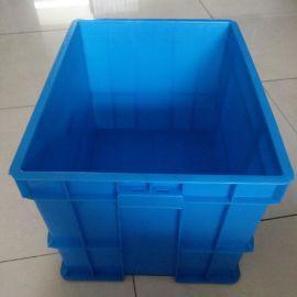 厂家塑料周转箱定制 全新料HDP塑料箱批发 物流运输箱现货供应