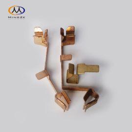 开关铜片 插座铜件 铜片插头电源插脚