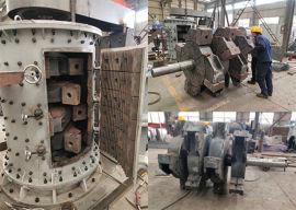 1250型立轴式建筑垃圾粉碎机 多用途立式制砂机