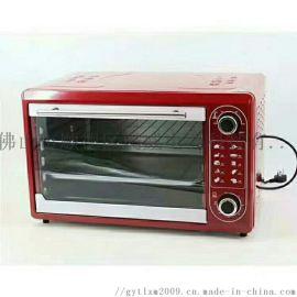 批发48升多功能电烤箱,机械调温电烤炉