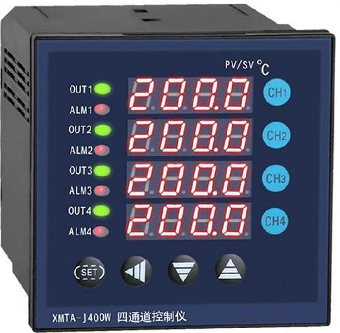 XMTA-J400W四路智能温度仪表