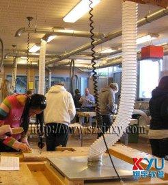 钢丝管,PU钢丝缠绕管,透明钢丝吸尘管