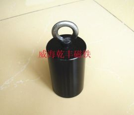 方形圆形打捞强力钕铁硼磁铁吸盘油田油井专用