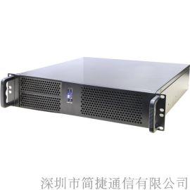 深简捷IP电话交换机CEX1, 支持E1/PRI/SS7/30B+D, IPPBX自带设备移动办公BYOD