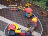 幼兒園專用地板,圓柱米格拼裝地板懸浮式地板,運動式拼裝地板
