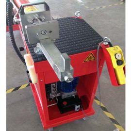 【现货】小型移动式电动液压弯管机,集成去毛刺、卡套预装和扩口功能