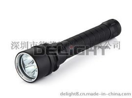 厂家直销户外led潜水手电筒潜水防水灯具W100A