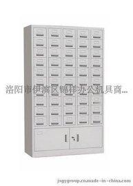 办公室50抽卡片柜资料整理柜 钢制档案柜目录柜