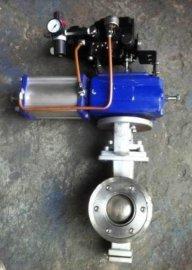 VQ647F气动V型球阀