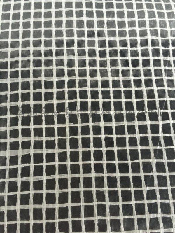 白色PE夾網布 網格布 花房用網格布