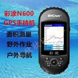 BHCnav测亩王彩途N600户外GPS手持机GIS专业数据采集器气压计