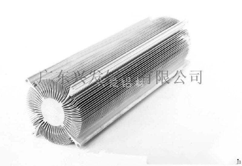 直供广东兴发铝业铝型材电子散热器
