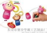 M-29搪膠猴子,伸縮筆,圓珠筆,廣告筆,匙扣