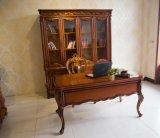 欧式套房实木书柜为您讲述什么才是环保家具