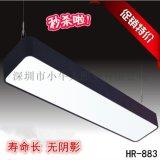 厂价直销长方形圆角LED办公灯写字楼  LED吊灯含光源可订制