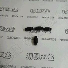 48小时盐雾环保黑锌双头实心铆钉 承接非标铆钉订做 按图纸订做