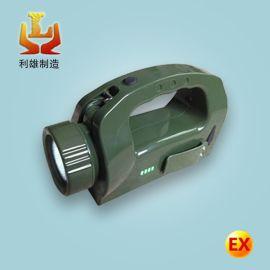LED手提防爆探照灯IW5510手摇发电磁力探照灯