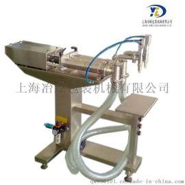 半自动双头液体灌装机 醋 酱油 料酒灌装机 定量灌装机 小剂量