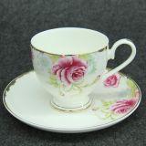 廠家供應骨質瓷咖啡杯碟 歐式咖啡杯 下午茶套裝 定制禮品杯碟