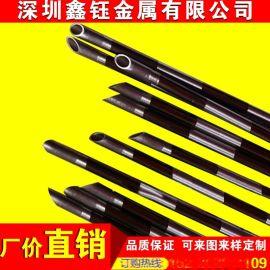 供应304不锈钢毛细管 316不锈钢毛细管 磨尖 封头 折弯 变径 加工