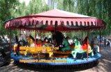 庙会室外游乐设施简易转马JYzm可移动式游乐设施简易转马