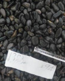 3-5厘米天然黑色鹅卵石价格,河北石家庄黑色鹅卵石批发