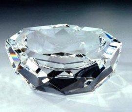 水晶玻璃烟灰缸