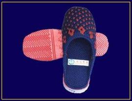 手工毛线拖鞋
