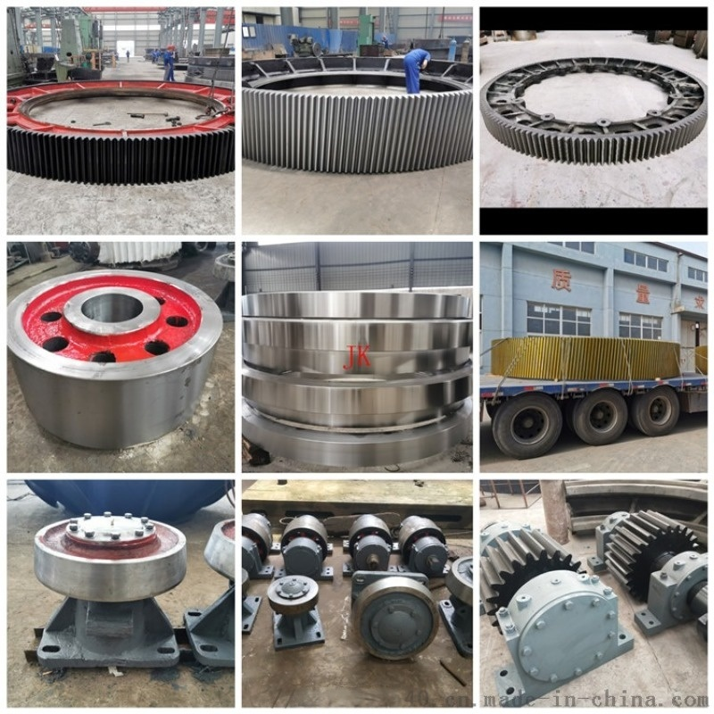 云南哈弗式弹簧板结构铸钢干燥机大齿轮厂家